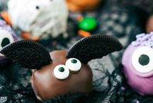 Fall + Halloween Recipes / Halloween and Fall food recipes and decoration ideas for your fall and Halloween parties.