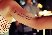 Tattoos. / by Allis Calhoun