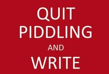 """Novel Writing / NaNoWriMo / Need NaNoWriMo encouragement? I've participated in (and finished) NaNoWriMo -- the national novel writing month -- and here are the quotes, articles, and ideas that spurred me on to JUST KEEP WRITING! In the """"Pantser v. Plotter"""" debate, I've tried it both ways and finished both ways, but quotes like this keep me going. Join me here for NaNoWriMo motivation! jessconnell.com"""