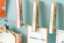 Organizing & Home Ideas