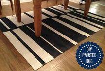 Floors & Floor Coverings / Treat floors as furniture or art! / by Judi Micoley