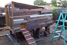 Chicken Coop / We built our own DIY chicken coop. Here is the chicken coop inspiration that motivated us as we built ours. jessconnell.com
