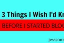 Blogging / I've been blogging since 2006. Here is the best blogging advice, blog tips, and blog writing encouragement I've found. Join me, Christian bloggers, mommy bloggers, and worldview-shapers! Let's build world-changing, thought-provoking blogs. jessconnell.com