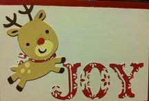 Christmas Cards / Cricut and Stamping / by Shelia Winfrey