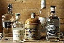 Vodka Label Design / Vodka label design project / by Renae Brewer Wood
