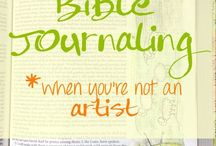 Bible Journaling Ideas / Ideas for art journaling in the Bible.