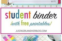 Printables / Fun printables to use at home or to get you through the school year!