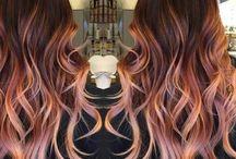 Fall Colors / Hair colors