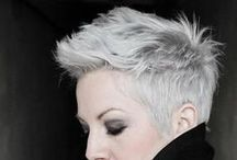 Beauty: Hair / Experiment, try, ideas, like hair / by Claudia Martin