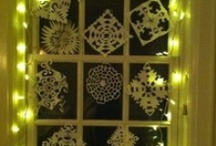 Paper Snowflakes and Stars