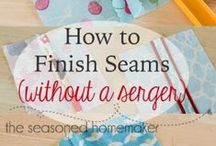 2 TIPSY for TRICKY SEAMS / HELPFUL SEWING/QUILTING HINTS