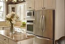 Kitchens..... / Great kitchen ideas.....islands....lights....organization....design! / by Sandra Walling
