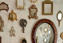 Mirror...Mirror....on the wall !  / My LOVE of Mirrors....... / by Sandra Walling
