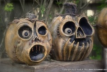 Halloween.....CRAFTS!  / Cute little crafts.....for the Halloween season! / by Sandra Walling