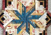 2 SQUARE FOR A BLOCKPARTY / QUILT BLOCKS / by Connie Kight