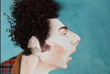 """""""Caricatures""""...... / by Sandra Walling"""