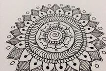Inspiration: ZenTangled / New hobby, doodling with a purpose!!! / by Claudia Martin