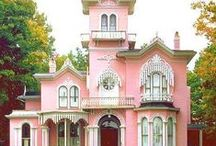Little Pink Houses!