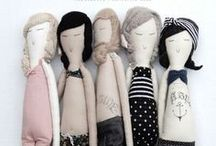 HandMade DoLLS / with a twist....oh and above all Personality! / by Claudia Martin