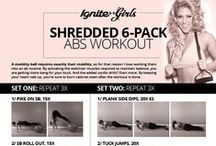 Kick Ass Workouts / Workouts for the gym, or at-home.