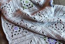 Crochet + Crochet: Blankets & Afghans / by Claudia Martin
