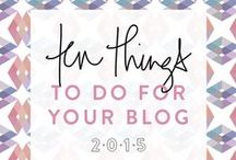 Blogging / Tips and resources for bloggers.