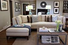 Living Room Decor / Home decorating ideas primarily for the living room and entryway of your house.