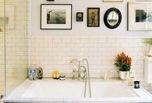 ♡ Bathroom Inspiration ♡ / Bathroom design inspiration and ideas