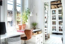 ♡ Office Inspiration ♡ / Office design inspiration and ideas