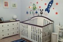 Space Nursery / Space themed nursery for boys