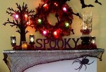 Falling Leaves and Scary Faces! / Fall decor, foods and halloween ideas!