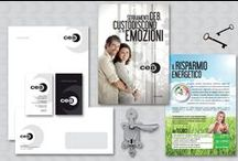 My works at Makeamove Communication / Alcuni lavori realizzati.