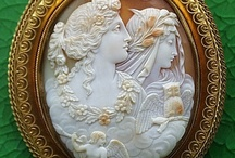 Cameo's, Miniature Portrait's,And Pillbox's / Amedeo Scognamiglio,M+M Scognamiglio Fine Italian Cameos Since 1857.The Reason For My Cameo Obsession. / by Debbie Hill