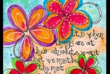 Artsy, Doodle-y, Creativity!  / Paintings, Drawings and Doodles / by 🌺Michele Munguia🌺