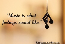 Music Makes the World Go 'Round / by The Hippie In High Heels