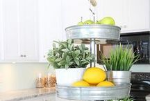 Kitchen & Dining Decor / Home decorating ideas for the kitchen and dining room.