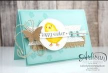 Crafty Cards - Stampin' Up! / Various card creations using Stampin' Up! products.
