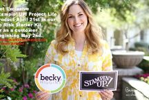 PLxSU / Featuring Project Life with Stampin' Up! And Becky Higgins!  All the creative inspiration and products available from Stampin' Up! To create your perfect Project Life Memory Book!