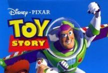 TOY STORY 1995, 1999 + 2010 / A cowboy doll is profoundly threatened and jealous when a new spaceman figure supplants him as top toy in a boy's room. DIRECTOR: John Lasseter;  WRITERS: John Lasseter (original story by), Pete Docter (original story by);  STARS:  Tom Hanks, Tim Allen, Don Rickles