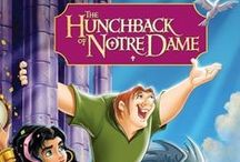 "THE HUNCHBACK OF NOTRE DAME,1996+2002 / A deformed bell-ringer must assert his independence from a vicious government minister in order to help his friend, a gypsy dancer.  DIRECTORS: Gary Trousdale, Kirk Wise;  WRITERS: Tab Murphy (animation story by), Victor Hugo (from the novel ""Notre Dame de Paris"" by);  STARS: Demi Moore, Jason Alexander, Tom Hulce 