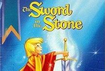 THE SWORD IN THE STONE ~ 1963 / A poor boy named Arthur learns the power of love, kindness, knowledge and bravery with the help of a wizard called Merlin in the path to become one of the most beloved kings in England history.  DIRECTOR: Wolfgang Reitherman WRITERS: Bill Peet (story), T.H. White (based on the book by) STARS: Rickie Sorensen, Sebastian Cabot, Karl Swenson
