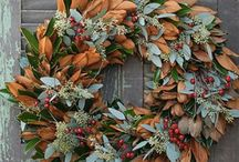 Deck the Halls / Holiday decor and recipes
