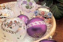 Purple Christmas / by Debbie Hill