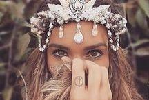 Jewelry in boho style