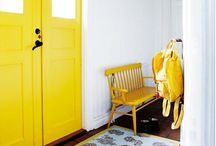 Yellow / Home deco