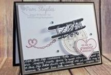 Masculine / Various paper craft projects featuring a Masculine theme using Stampin' Up! products.