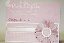 Congratulations / Handmade paper craft projects featuring a Congratulations Theme using Stampin' Up! products
