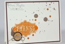 Autumn & Thanksgiving / Handmade paper craft projects featuring a Fall, Autumn or Thanksgiving Theme using Stampin' Up! products