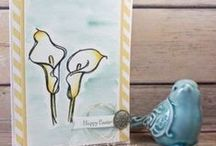 Easter / Handmade paper craft projects featuring an Easter Theme using Stampin' Up! products