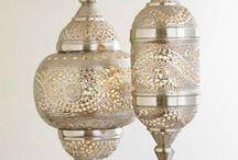 Bohemian lamp inspiration / Oh those pretty bohemian lamps... I love them all..